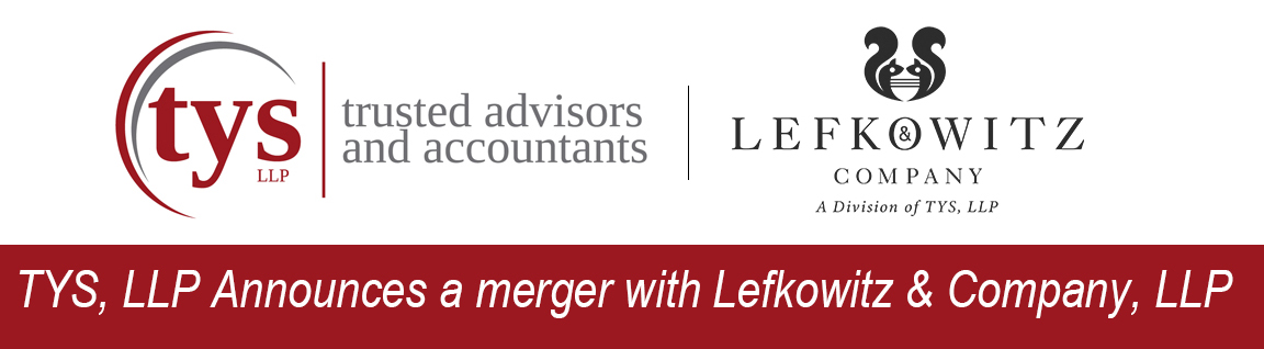 TYS LLP Annouces a merger with Lefkowitz & Company LLP